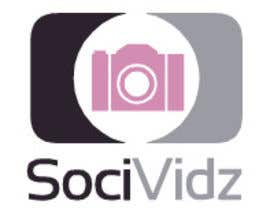 #13 untuk Design a Logo for SociVidz oleh gabimitsova