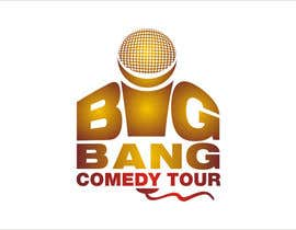 #297 para Logo Design for Big Bang Comedy Tour por astica
