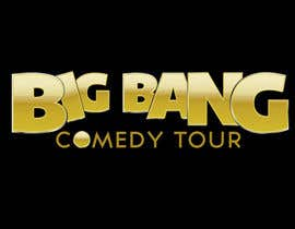 #65 para Logo Design for Big Bang Comedy Tour por upquark