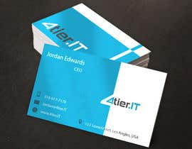 #75 untuk Design some Business Cards for 4tier oleh danmiz24