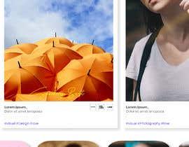 Nro 16 kilpailuun Design a Homepage (1 page only) mockup. käyttäjältä Arifalbani