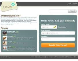 #10 para Website Design for Forums.com de Krishley
