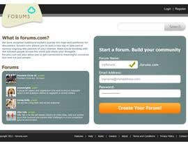 #5 för Website Design for Forums.com av Krishley