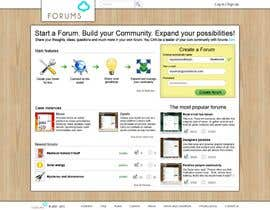 #15 for Website Design for Forums.com by Kashins