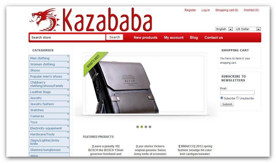 Konkurrenceindlæg #                                        144                                      for                                         Logo Design for kazababa