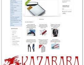 #84 para Logo Design for kazababa por ROCCO965