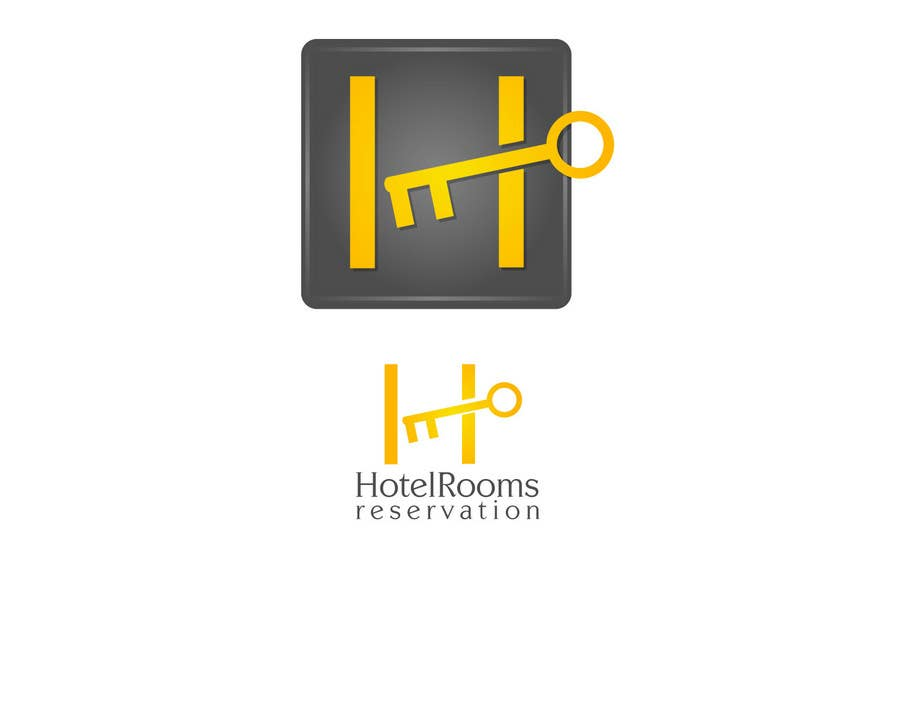 Proposition n°                                        52                                      du concours                                         Logo Design for Hotel reservation in IPhone App