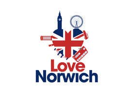 #35 for Design a Logo for Love Norwich by NicolasFragnito
