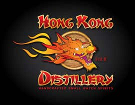 #346 untuk Logo Design for Hong Kong distillery - repost due to Wasabesprite not completing design and disappearing oleh GeorgeOrf