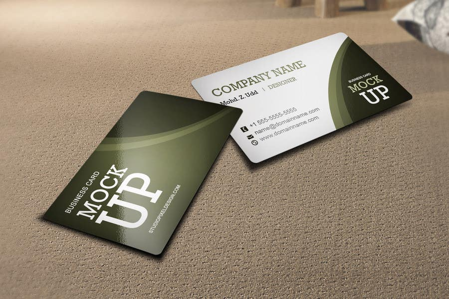 Kilpailutyö #15 kilpailussa Design Some Business Cards
