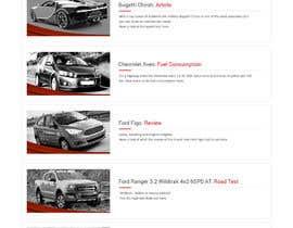 syrwebdevelopmen tarafından Re-design 2 website landing pages (Netcars Search page) için no 22