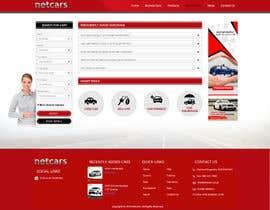 webidea12 tarafından Re-design 2 landing pages on a website (Netcars About & FAQ) için no 32
