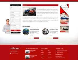 webidea12 tarafından Re-design 2 landing pages on a website (Netcars About & FAQ) için no 33