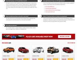 omwebdeveloper tarafından Re-design 2 landing pages on a website (Netcars About & FAQ) için no 44