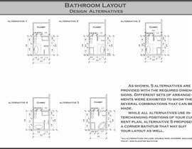 reem1794 tarafından Design a bathroom layout için no 11