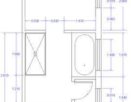 nikicaperic tarafından Design a bathroom layout için no 9