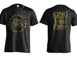 jeffnelshabong tarafından Design a T-Shirt - The Lord of the Ring Style için no 18