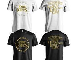 jeffnelshabong tarafından Design a T-Shirt - The Lord of the Ring Style için no 80