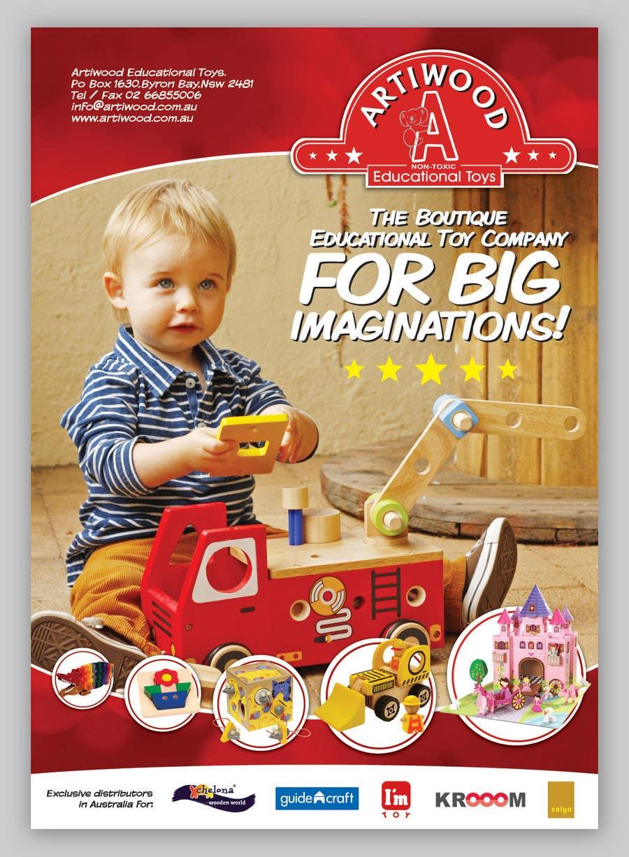 Inscrição nº                                         29                                      do Concurso para                                         Advertisement Design for Artiwood Educational Toys (A4)