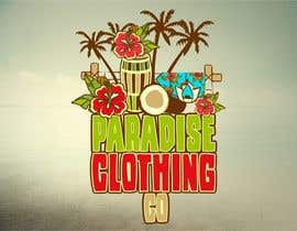 #87 para Design a Logo for Paradise Clothing Co por salutyte