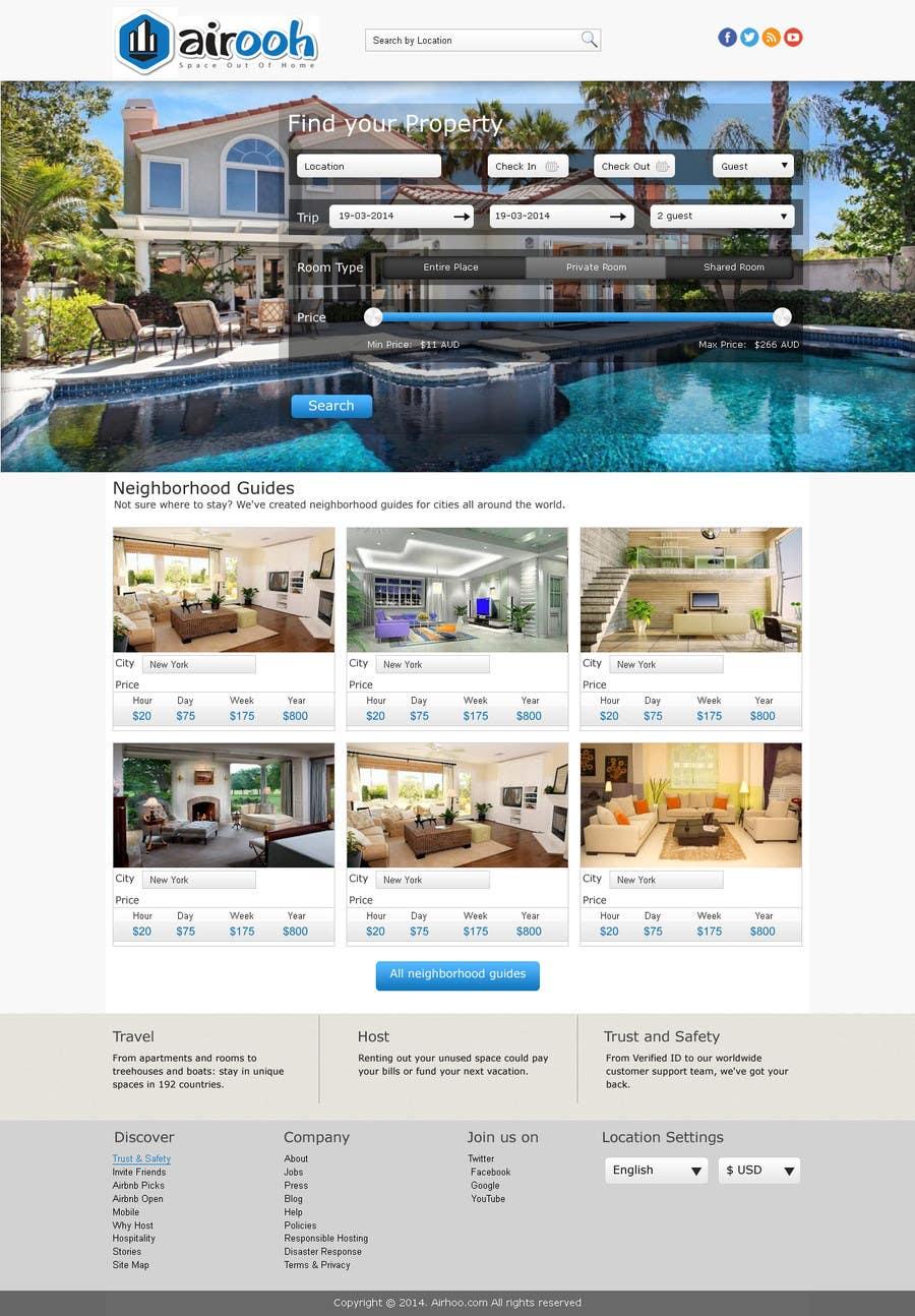 Bài tham dự cuộc thi #3 cho Design a Website Mockup for realestate website