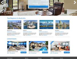 #17 for Design a Website Mockup for realestate website af creativitypalace