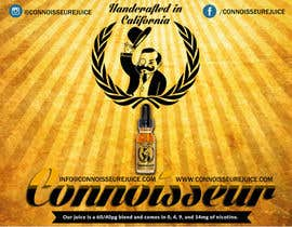 #3 cho Poster Design for Connoisseur eJuice bởi marvaughnn
