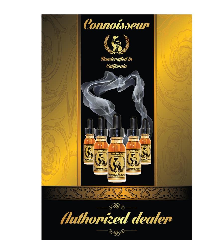 Penyertaan Peraduan #10 untuk Poster Design for Connoisseur eJuice