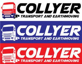 nº 43 pour Design a Logo for Collyer Transport and Earthmoving par farieh