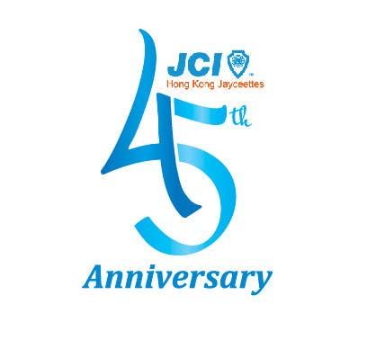 logo design for the 45th anniversary banquet freelancer