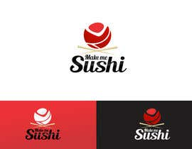 "nº 43 pour Design a Logo for 'MAKE ME SUSHI"" - repost par rajdesign2009"