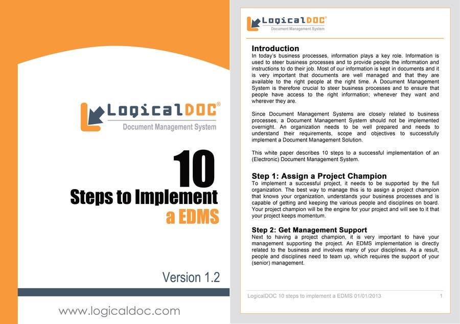 Konkurrenceindlæg #1 for A4 Brochure Template for Marketing