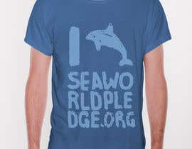 nº 17 pour Design a T-Shirt for Seaworldpledge.org par originalov