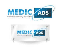 #442 para Logo Design for MedicAds - medical advertising por HDReality