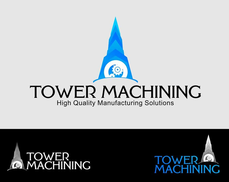 Konkurrenceindlæg #24 for Design a Logo & Banner for Machining Company