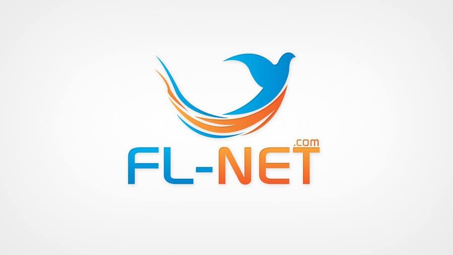 Design a logo for FL-NET için 98 numaralı Yarışma Girdisi