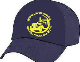 #11 para Design 2* logos for trucking co, truckers hats por wbengelbrecht