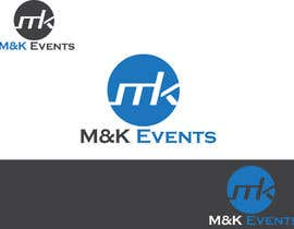 "#30 cho Logo for ""M&K Events"" bởi MilenkovicPetar"