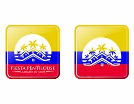 Geelator tarafından LOGO & Favicon for FiestaPenthouse Luxury Penthouse Rental Web Site için no 21