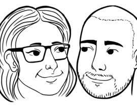 #5 for Cartoonize Two Faces (B/W, Vector Graphic, Low Detail) by crisshadesign