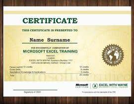caglaeger tarafından I need some Graphic Design for a certificate için no 10