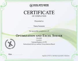 Underscore92 tarafından I need some Graphic Design for a certificate için no 4