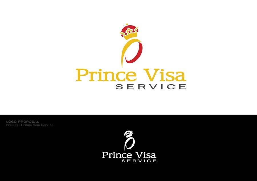 #140 for Logo Design for Prince Visa Service by Dewbelle