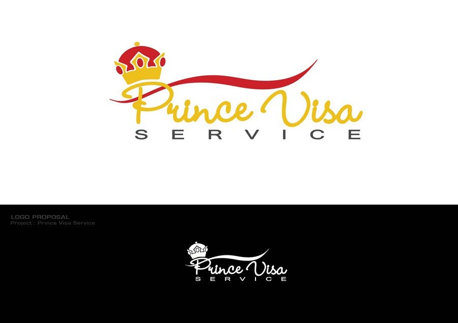 #70 for Logo Design for Prince Visa Service by Dewbelle