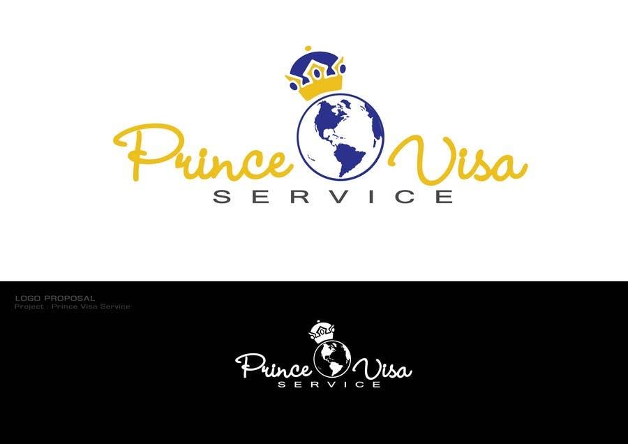 #137 for Logo Design for Prince Visa Service by Dewbelle