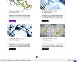 dnljhn tarafından Design 2 website pages (grid + show) için no 6