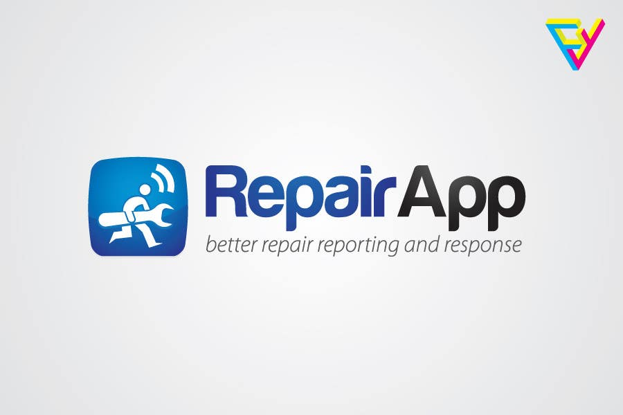 #351 for Logo Design for RepairApp by Ferrignoadv