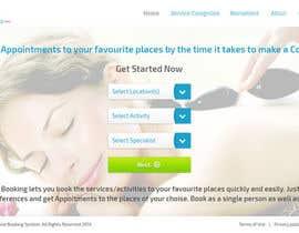 #72 para Website for Online Booking por eleopardstudios