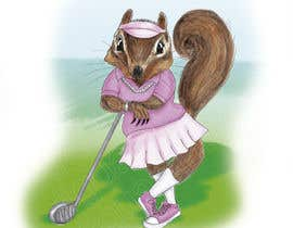 gerardocastellan tarafından Teenage Golfing Female Squirrel için no 8
