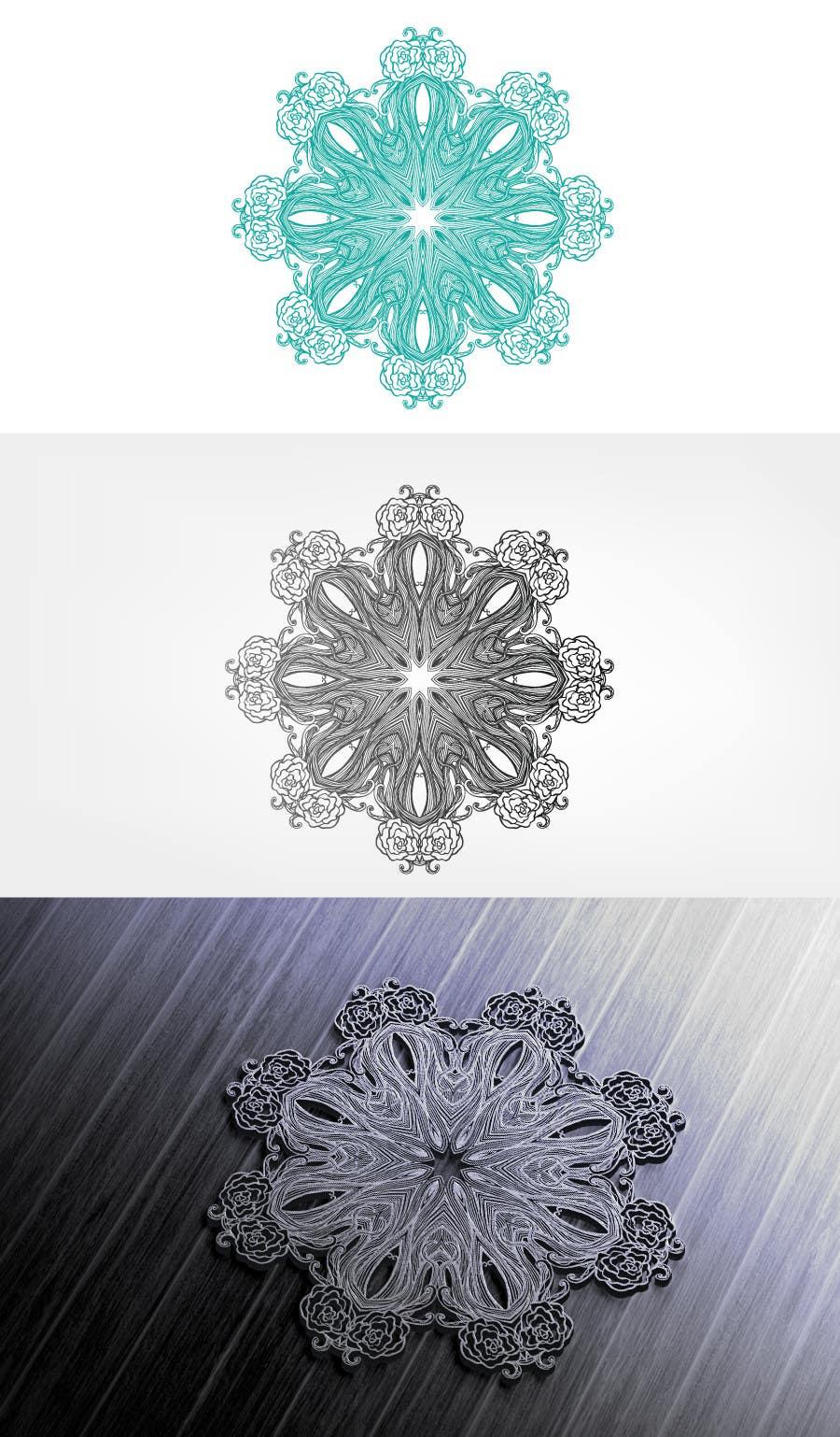 Inscrição nº 42 do Concurso para Design a FLORAL pattern for a LOGO